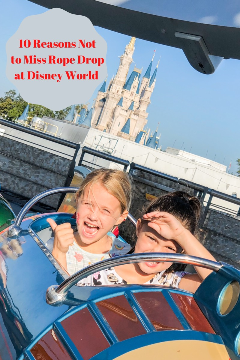 10 Reasons Not to Miss Rope Drop at Disney World